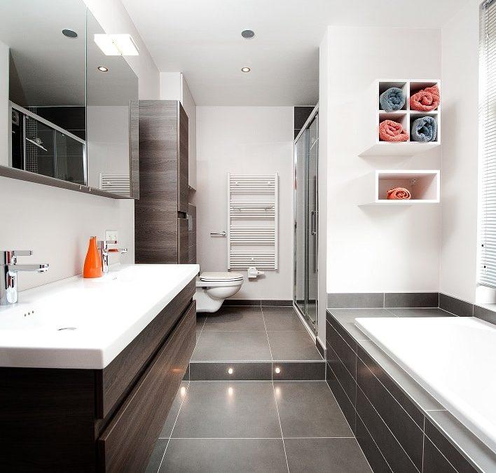 Projet de rénovation d'une petite salle de bain